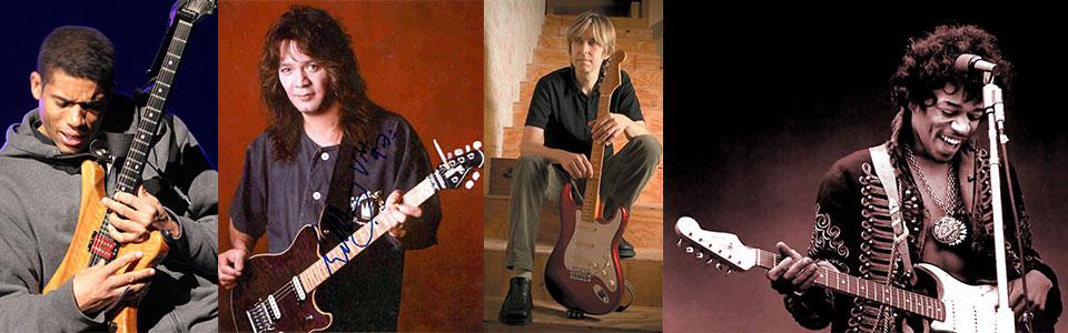 Undervisning inspireret af guitarlegender